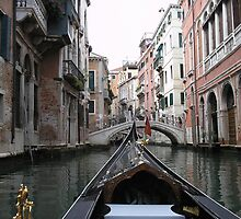 Gondola Venice by tvlgoddess