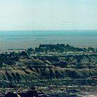 South Dakota Badlands by Allen Gaydos