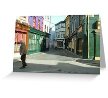 Crossing the road, Kinsale Greeting Card