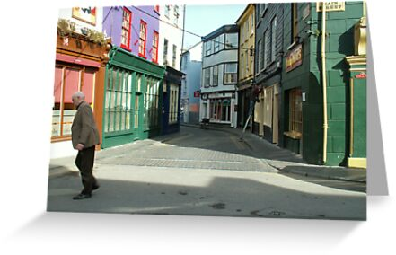 Crossing the road, Kinsale by Alice McMahon