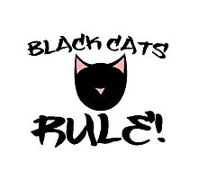 Black Cats Rule! by Boogiemonst