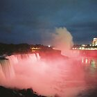 Niagara Falls By Night by Allen Gaydos