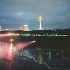 Niagara Falls Skyline by Allen Gaydos