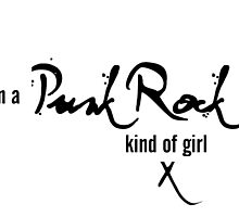 I'm a Punk Rock kind of girl by KirstyBarnett