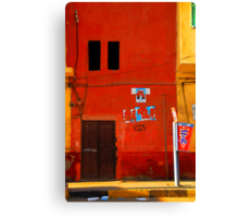 Street in Cairo, Egypt Canvas Print