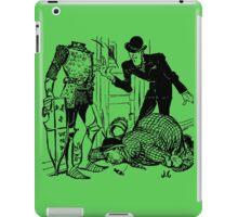 Klump To The Rescue iPad Case/Skin