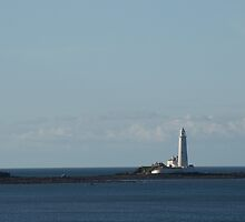 St. Mary's Lighthouse by Robert Carr
