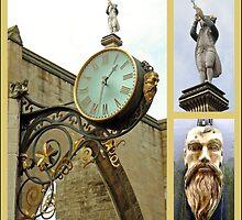 York - St. Martin's Church Clock by AARDVARK