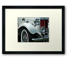 Me And My MG Framed Print