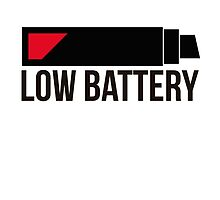 Low Battery by okclothing