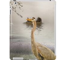 Great Blue Heron at Dusk iPad Case/Skin