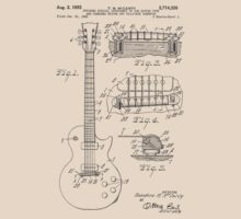 Les Paul  Guitar patent from 1955 T-Shirt