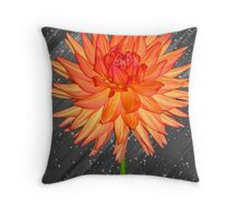 Fabulous Flower Throw Pillow