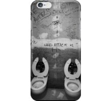 First punk toilet ever! iPhone Case/Skin
