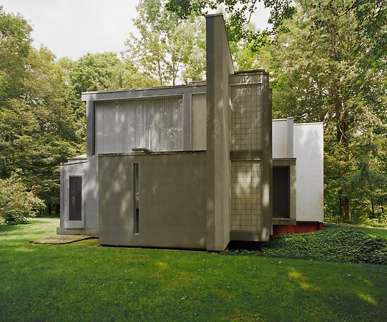 Peter Eisenman's House VI by HelenB