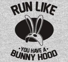 Run Like You Have A Bunny Hood by Six 3