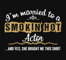 Funny Actor T-shirt by musthavetshirts