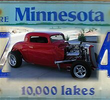 Minnesota Red Streetrod by tvlgoddess