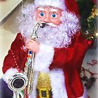 Santa Plays The Saxophone ~ Impressions 2 by Susie Peek