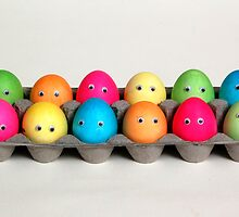 Easter Family of 12 by ronibgood