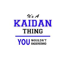 It's a KAIDAN thing, you wouldn't understand !! by thenamer