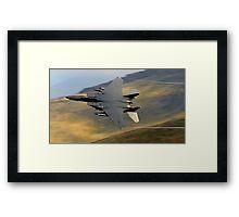 F15 E Strike Eagle Framed Print