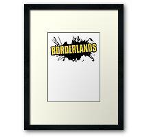 Borderlands Logo Framed Print