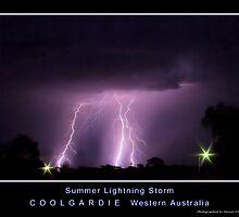 Summer Lightning Storm by Daniel Fitzgerald