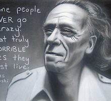 Charles Bukowski #2 by Lee Wilde