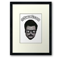 #SwagSon Is Here! Framed Print