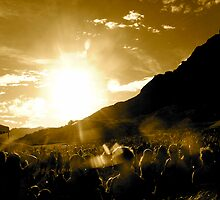 Crowded Mountain by pbeltz
