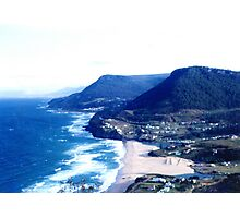 Stanwell Park, as it was in the 60's Photographic Print