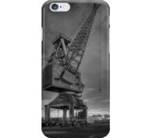 Crane in Monochrome iPhone Case/Skin