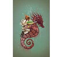 The Water Warrior Photographic Print
