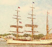 Europa - Parade of Sail by Francis LaLonde