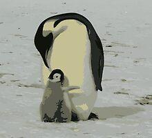 Penguin Duo by RefreshAzure