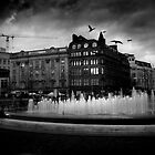 Manchester's Picadilly Gardens by Euan Craine