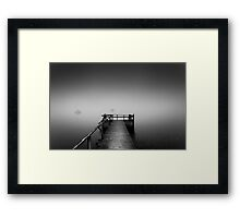 Ghost sailors Framed Print