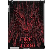 Fire and Blood iPad Case/Skin