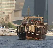 Old and New in Dubai by Neil Grainger