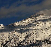Lone Peak Wilderness - Snow-Capped Ridge by Ryan Houston