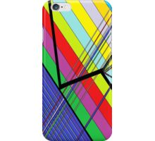 Diagonal Color - Abstract iPhone Case/Skin
