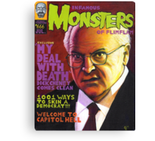 Infamous Monsters Canvas Print