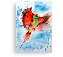 Green Bee Eater Canvas Print