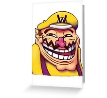 Wario - MEME Greeting Card
