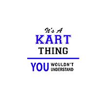 It's a KART thing, you wouldn't understand !! by thenamer