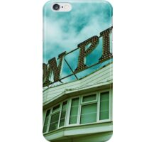 Brighton Pier Sign iPhone Case/Skin
