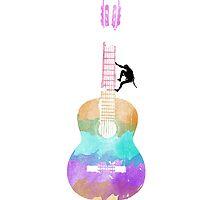 Guitar Climber by Jmurdera