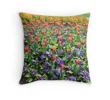 Tulips On Display (2) Throw Pillow