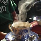 Morning Coffee at the B&B by Cathy Klima